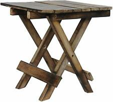 Wooden Handicarft Folding Stool for Living Room Side Table 12Inch.