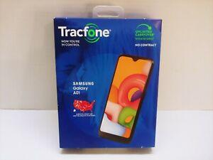 Samsung A01 - 16GB - Black (Tracfone) Smartphone NEW SEALED READ DESCRIPTION