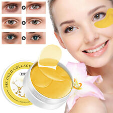 60Pcs Efero Gold Collagen Eye Mask Hydrogel Eye Patches Pads Dark Circles Care