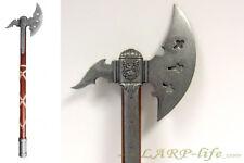 Mittelalter-Axt mit schönen Verziehrungen Deko Rüstzeug 11. Jahrh. Schlachten