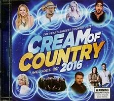 Cream of Country 2016 Cd/dvd PAL R0 Jason Aldean Brad Paisley Lee Brice