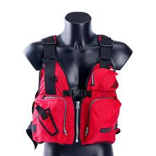 Hot Boat Buoyancy Aid Sailing Kayak Fishing Life Jacket Vest - D13 -Red New