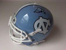 Willie Parker Steelers North Carolina Tar Heels Mini Helmet Autograph NCAA