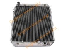 QLD GPI radiator aluminum 3 row for TOYOTA HILUX SURF KZN130 1KZ-TE AT MT 93-96