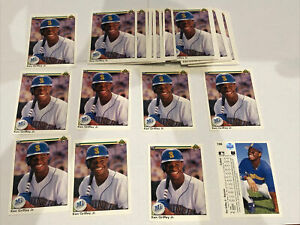 40 Card Lot 1990 Upper Deck Ken Griffey Jr #156 MINT 2nd Year Mariners