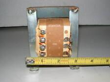 VINTAGE STANCOR RT-204 POWER TRANSFORMER, 12 v@8a or 24v@4a; 117 volt primary