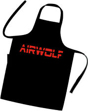 AIRWOLF Chefs / Cooks / Apron / BBQ / Birthday / Xmas / Party / HELICOPTER / TV