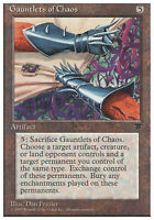 4x Gauntlets of Chaos MTG Regular NM, English Chronicles