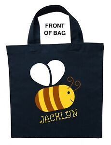 Bumble Bee Trick or Treat Bag - Personalized Bumble Bee Halloween Bag