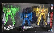 Transformers War for Cybertron Siege Rainmakers Seekers 3-Pack Ion Nova Acid