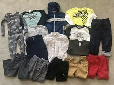 HUGE LOT of 16 Boys Winter Clothes Pants Shirts Coat Sizes 6-7T Columbia Hurley
