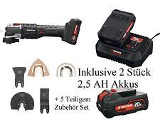 PARKSIDE PERFORMANCE Akku-Multifunktionswerkzeug PAMFWP 20Li A1 m. 2Akkus+Zubeh.