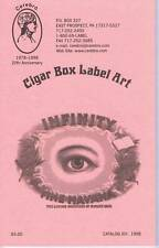 Cerebro Cigar box label art catalog 1998 1000's of cigar label listings