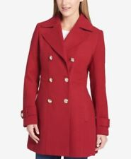 Tommy Hilfiger Skirted Peacoat Red S
