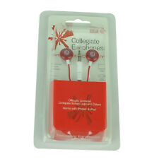 NCAA Alabama Crimson Tide Dynamic Sound Earphones Headphones Music Microphones