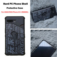 For ASUS ROG Phone 2 II / ZS660KL Hard PC Phone Shell Protective Case Cover