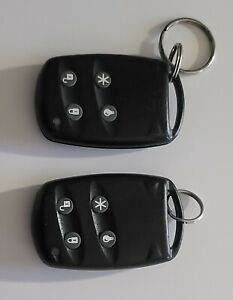 2 KEY FOBS  (used)  for GE Wireless Simon XT Security System