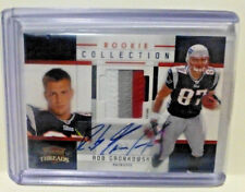 2010 Panini Threads ROB GRONKOWSKI Auto 4 Color Patch Rookie PRIME Card 10/15