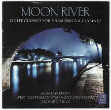 JACK HARRISON moon river Harmonica & Clarinet CD WASO 1985 Artie Shaw Concerto