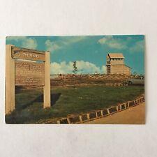 Groundhog Mountain Blue Ridge Parkway The Fences Unposted Postcard
