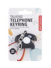 Kikkerland Retro Talking Telephone Keyring Keychain KRL75