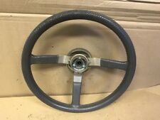89 JEEP CHEROKEE STEERING WHEEL. GREY