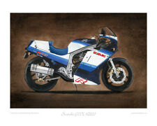 "Suzuki GSX-R1100 (1986) - Limited Edition Collectors Print (of 50 only) 20""x16"""