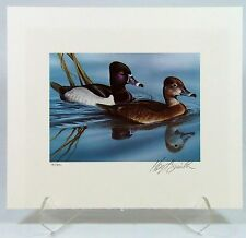 '84 Oklahoma Duck Stamp Print - Hoyt Smith