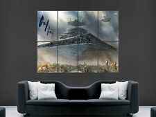 Star Wars Gigante De Pared de arte cartel impresión de foto Grande