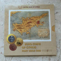 Zypern - Kursmünzensatz - 1 Cent - 2 Euro 2008 BU / Stgl CUNI