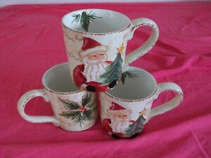 3 Maxcera Weihnachten Kaffee Becher Höhe 11 cm  Durchmesser 10 cm NEU