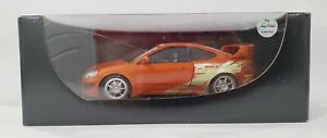 HOT WHEELS 100% ACURA RSX 1/18 SAMPLE IN SAMPLE BOX FROM LARRY WOOD COLLECTION