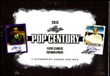 2015 Leaf Pop Century 12-box hoby case Gene Wilder Megan Fox Carrie Fisher auto?