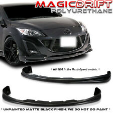 09 10 11 MAZDA 3 4/5 DOORS DS GV STYLE FRONT PU BUMPER LIP BODY KIT MS