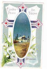 EASTER PEACE---JERUSALEM------ 1911 POSTCARD