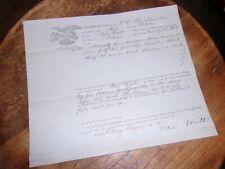 Shipp In Good Order Wm. C. Strickland On Board The Schooner October1855