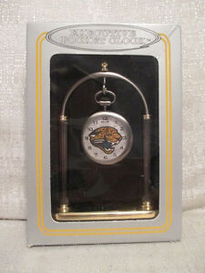Sun Time Jacksonville Jaguars Executive Sports Pocket Watch Clock NFL Football