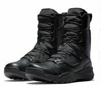"""NIKE SFB FIELD 2 8"""" BLACK MILITARY COMBAT TACTICAL MENS BOOTS SZ 10.5 AO7507-001"""