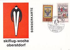 Berlino 1979 Obersdorf INTERNAZIONALE SCI Cartolina FDC inutilizzato in buonissima condizione