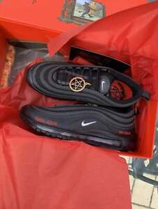 MSCHF x Lil Nas X Satan Shoes Nike Air Max 97 All Sizes In Hand New In Box *