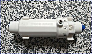 """RO Flow Restrictor ( adjustable ) 1/4"""" Push-fit for Reverse Osmosis System"""