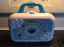Sesame Street Cookie Monster Learn Crunch Lunch Box Toy Blue Sounds Boys Girls