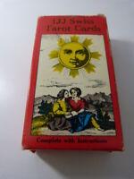 1JJ SWISS tarot cards  , cartes de tarots divinatoires (cp10)