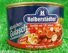 (8,33�'�/KG) Halberstädter W�œRSTCHENGULASCH in Tomatensauce pikant 400g Dose!!!