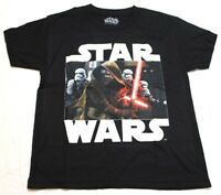 Star Wars Boys' T-Shirt Kylo Black Small S New NWOT