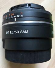 Sony Alpha SAL50F18 50 mm F/1.8 DT SAM Objektiv für Sony a-Mount
