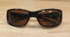 Genuine Disney Brown With Etched Flowers on Side Adult Woman's Sunglasses