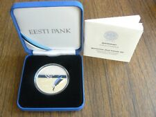 Estonia Estonian Republic Centenary Silver Coin 10 Euro 2018 PROOF Box COAT