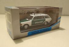 Mercedes-Benz 200 TE - 280 TE W 123 T-Modell / Kombi Polizei Minichamps 1:43!
