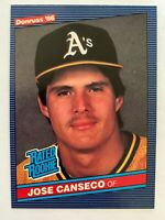 1986 Donruss Jose Canseco Rookie #39, Oakland A's RC    Qty. Available